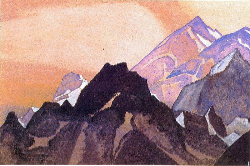 Beauty Himalayas. Roerich N.K. (Part 4)