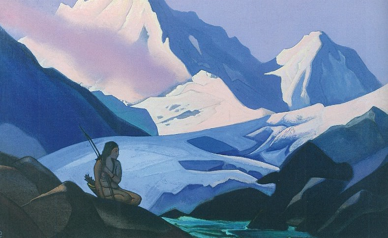 Snow virgin (virgin snow). Roerich N.K. (Part 4)