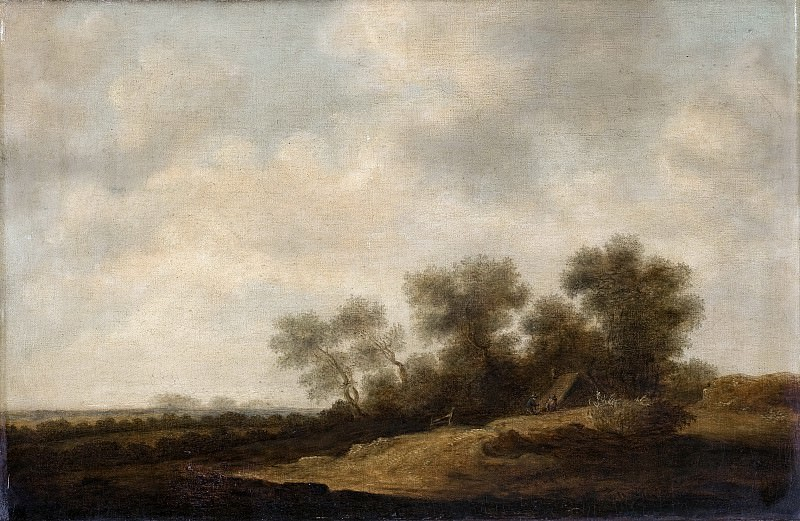 Anónimo (Copia Goyen, Jan Josefsz. van) -- Paisaje. Part 1 Prado museum