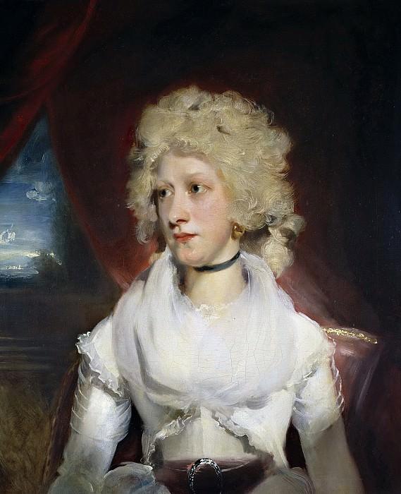Lawrence, Thomas -- Miss Marthe Carr. Part 1 Prado museum