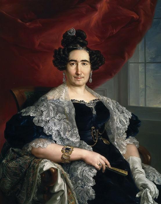 López Portaña, Vicente -- La señora de Delicado de Imaz. Part 1 Prado museum