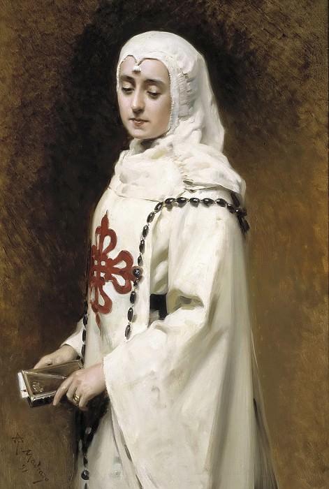 Madrazo y Garreta, Raimundo de -- La actriz María Guerrero como Doña Inés. Part 1 Prado museum
