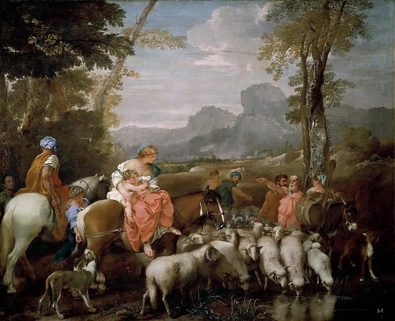 Андреа ди Лионе -- Путешествие Иакова. Часть 1 Музей Прадо