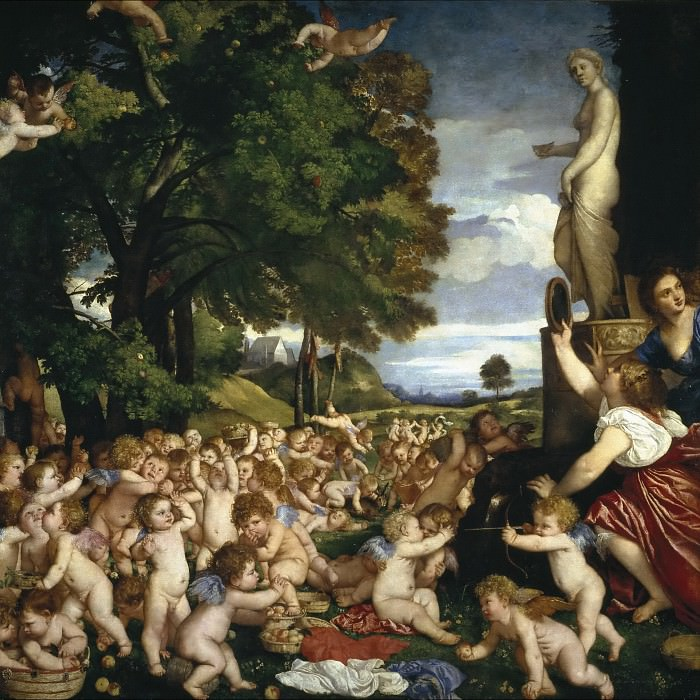 Ofrenda a Venus. Titian (Tiziano Vecellio)