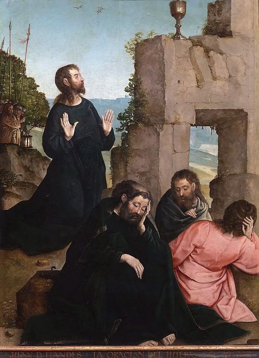 Flandes, Juan de -- La Oración del Huerto. Part 1 Prado museum