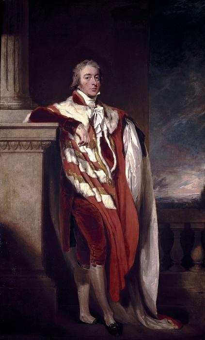 Lawrence, Thomas -- John Fane, X conde de Westmoreland. Part 1 Prado museum