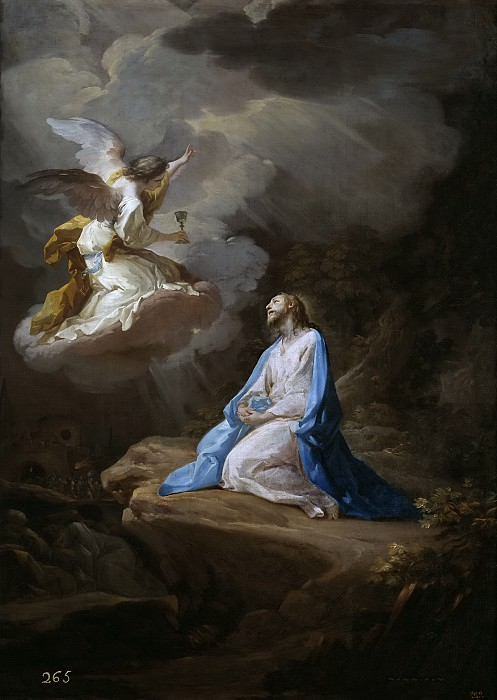 Giaquinto, Corrado -- La Oración en el Huerto. Part 1 Prado museum