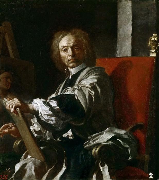 Solimena, Francesco -- Autorretrato. Part 1 Prado museum