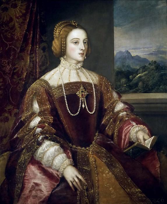 Императрица Изабелла Португальская. Тициан (Тициано Вечеллио)