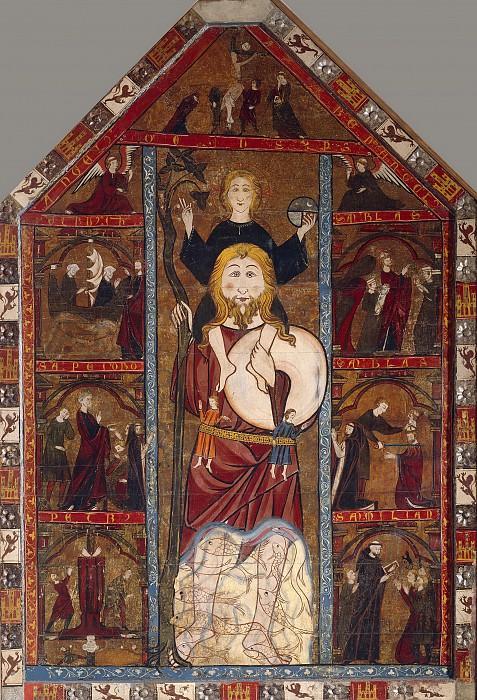 Anónimo -- Retablo de San Cristóbal. Part 1 Prado museum