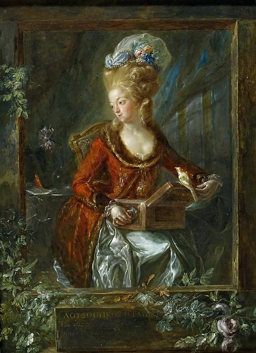 Paret y Alcázar, Luis -- María de las Nieves Micaela Fourdinier, esposa del pintor. Part 1 Prado museum