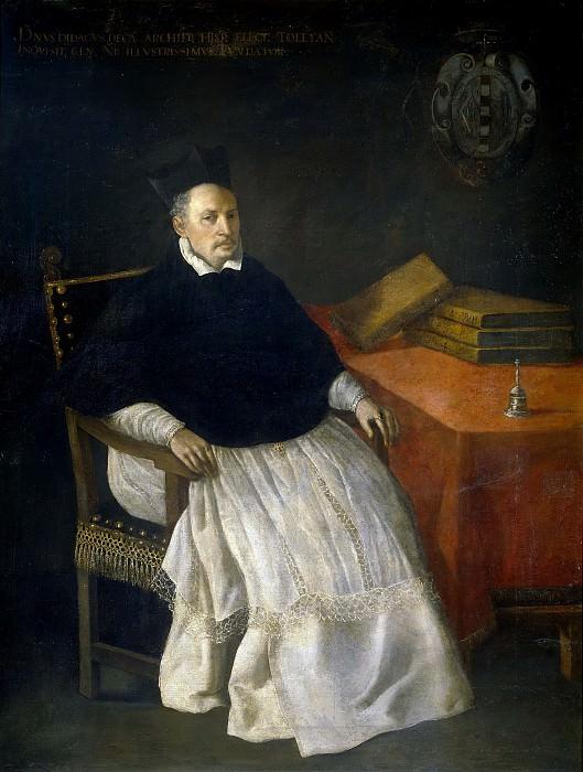 Zurbarán, Francisco de -- Fray Diego de Deza y Tavera, arzobispo de Sevilla. Part 1 Prado museum
