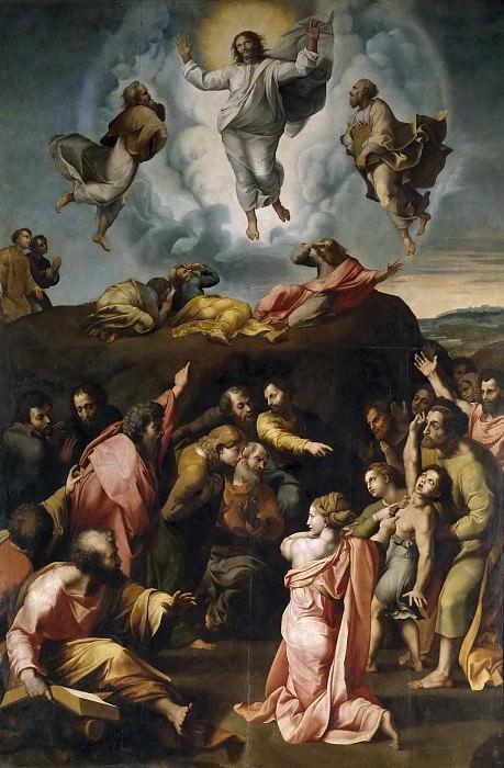 Penni, Giovanni Francesco (Copia Rafael) -- Transfiguración del Señor. Part 1 Prado museum