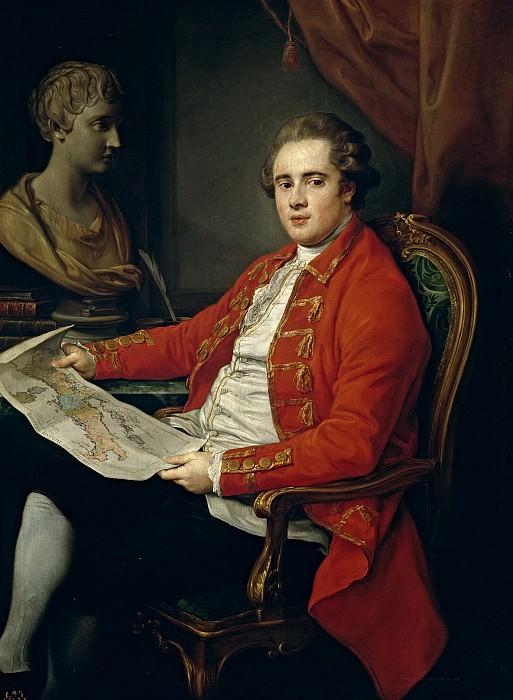 Batoni, Pompeo -- George Legge, vizconde de Lewisham. Part 1 Prado museum