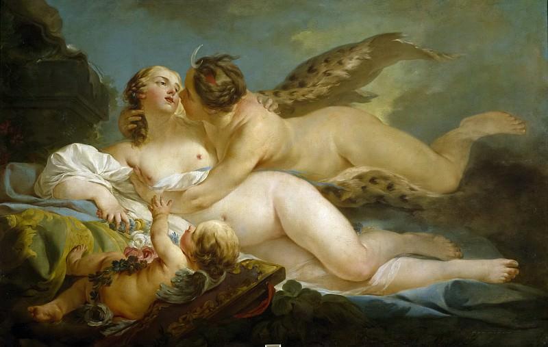 Пьерр, Жан-Батист-Мари -- Диана и Каллисто. Часть 1 Музей Прадо