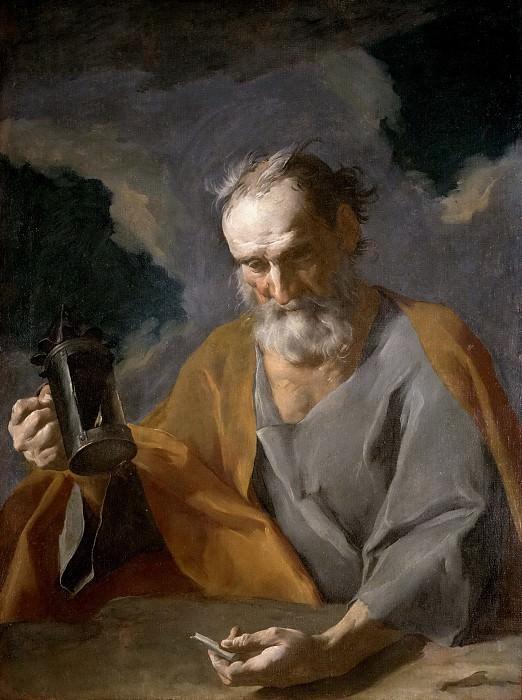 Petrini, Giuseppe Antonio -- Diógenes. Part 1 Prado museum