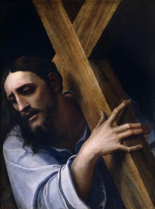 Piombo, Sebastiano del -- Cristo con la Cruz a cuestas. Part 1 Prado museum