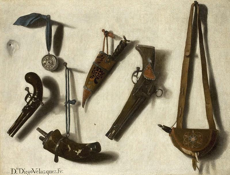 Victoria, Vicente -- Armas y pertrechos de caza. Part 1 Prado museum