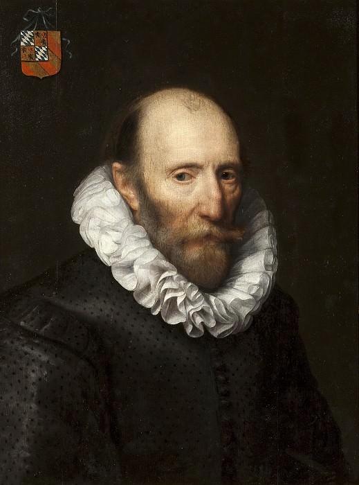 Mierevelt, Michiel Janszoon van -- Retrato de un señor de la familia Van Beijeren van Schagen (¿Johan van Beijeren van Schagen?). Part 1 Prado museum