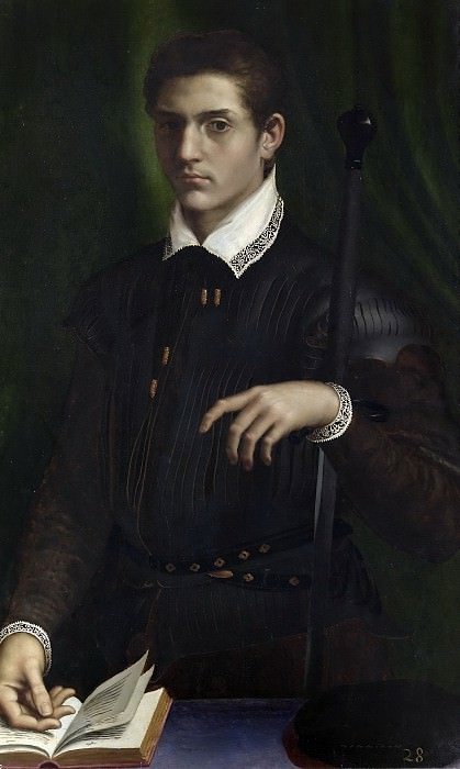 Volterra, Daniele da -- Retrato de caballero. Part 1 Prado museum