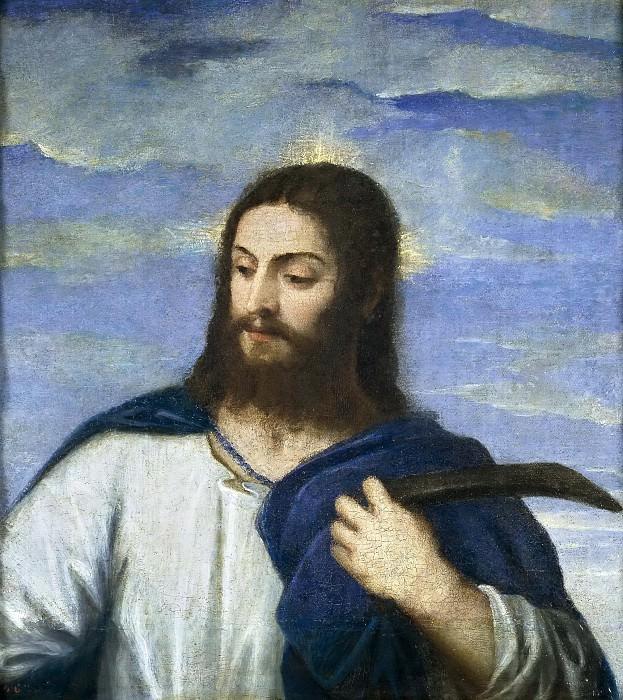 Tiziano, Vecellio di Gregorio -- El Salvador, de hortelano. Part 1 Prado museum