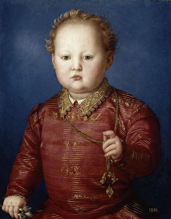Bronzino -- García de Medici. Part 1 Prado museum