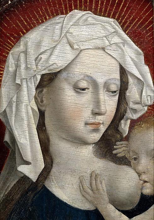Anónimo (Copia Campin, Robert) -- La Virgen de la Leche. Part 1 Prado museum