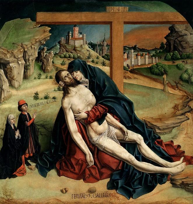 Gallego, Fernando -- La Piedad. Part 1 Prado museum