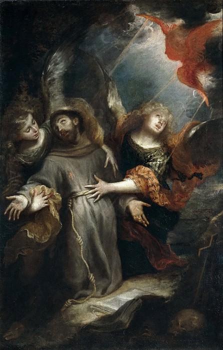 Сересо, Матео -- Стигматизация Святого Франциска. Часть 1 Музей Прадо
