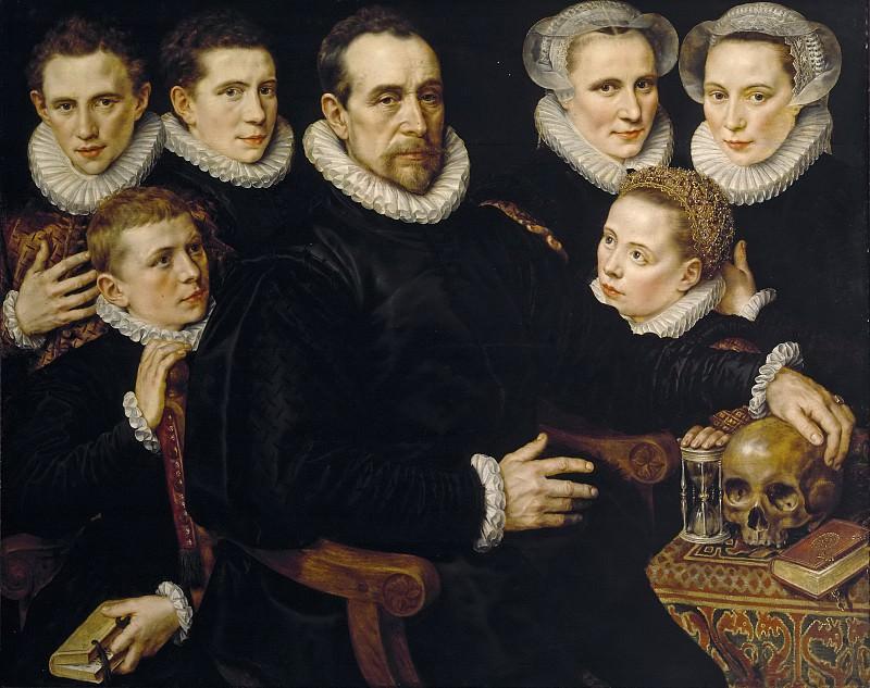 Кей, Адриан Томас -- Семейный портрет. Часть 1 Музей Прадо