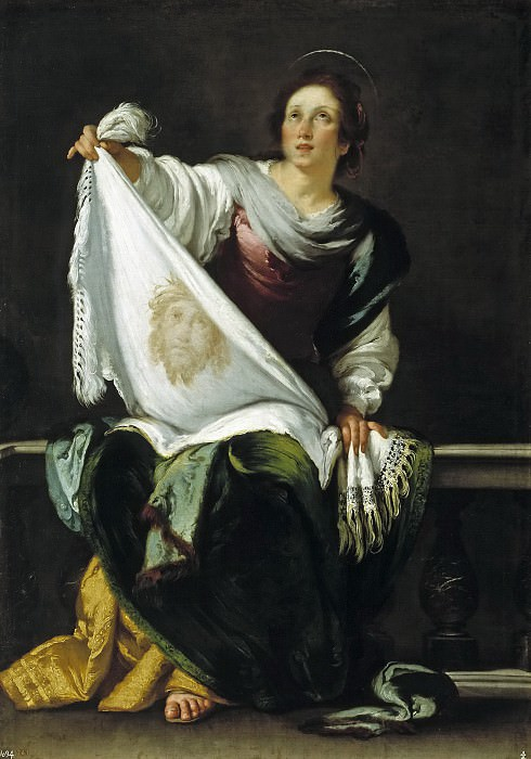 Strozzi, Bernardo -- La Verónica. Part 1 Prado museum