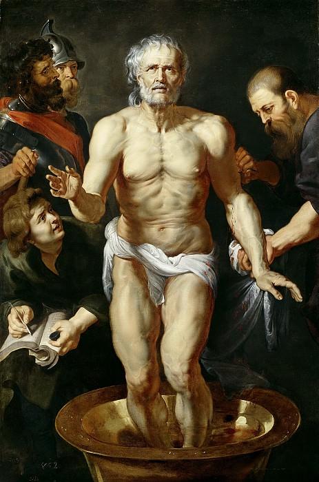 Anónimo (Taller de Rubens, Pedro Pablo) -- La muerte de Séneca. Part 1 Prado museum
