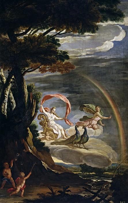 Паломино и Веласко, Асисло Антонио -- Аллегория воздуха. Часть 1 Музей Прадо
