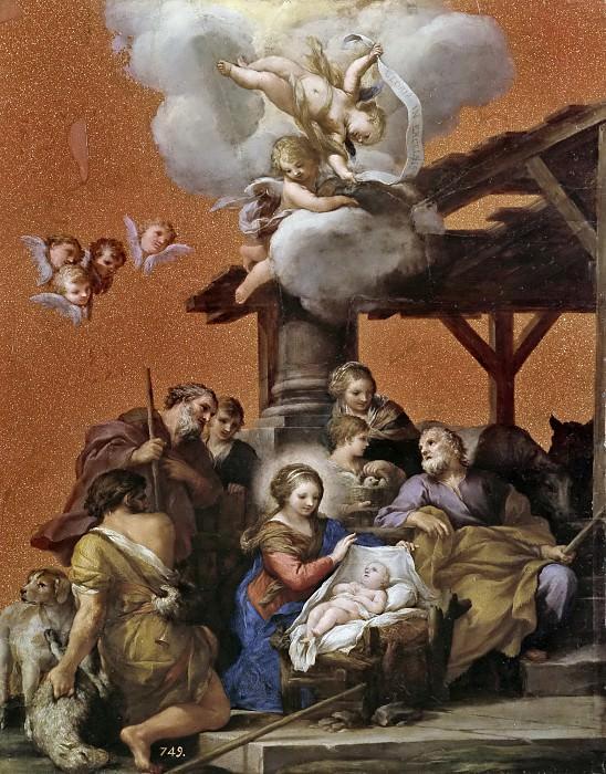 Пьетро да Кортона -- Рождество. Часть 1 Музей Прадо