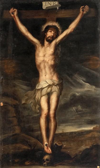 Anónimo -- Cristo crucificado. Part 1 Prado museum