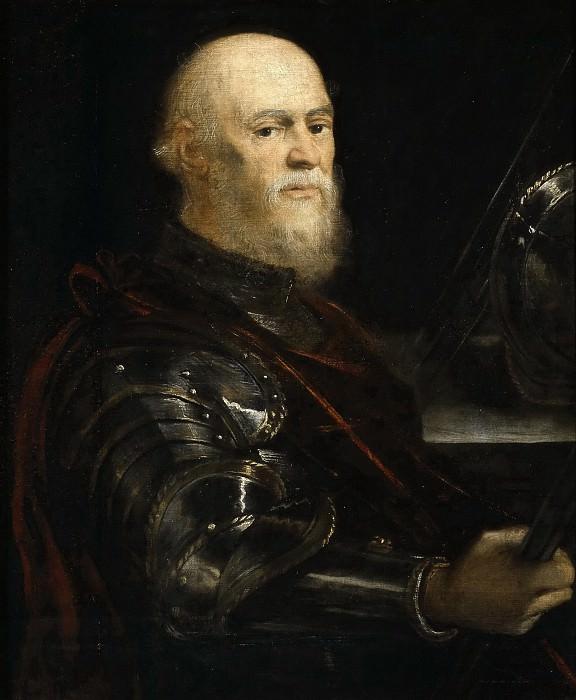 Tintoretto, Jacopo Robusti -- Almirante veneciano. Part 1 Prado museum