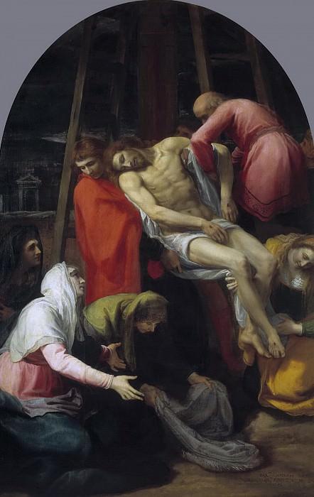 Кардуччо, Бартоломео -- Снятие с креста. Часть 1 Музей Прадо