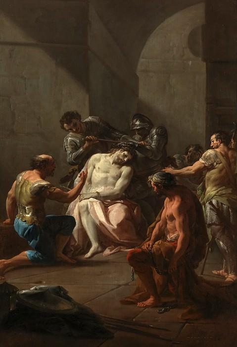Giaquinto, Corrado -- La Coronación de espinas. Part 1 Prado museum