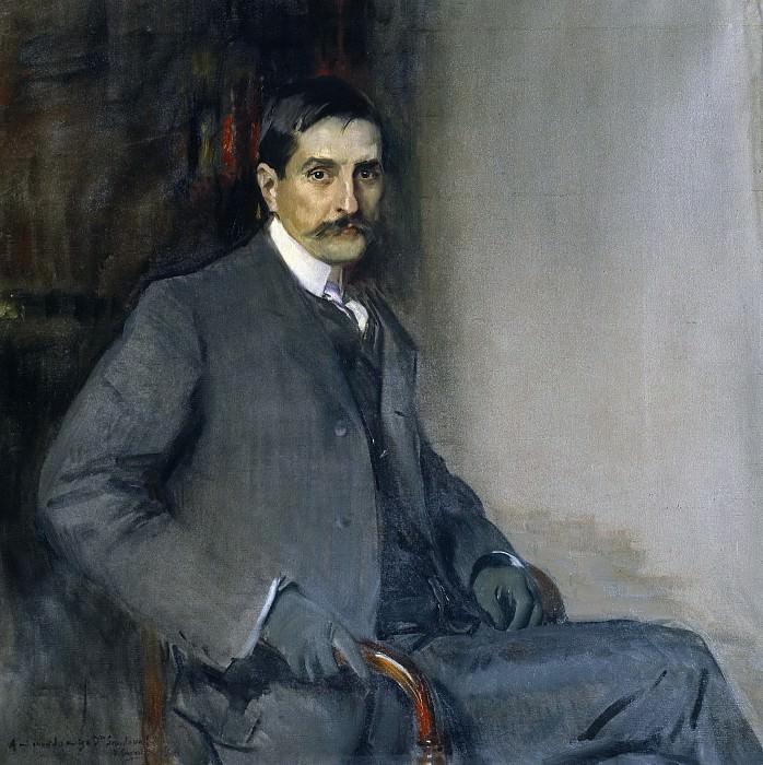 Sorolla y Bastida, Joaquín -- El doctor Francisco Rodríguez de Sandoval. Part 1 Prado museum