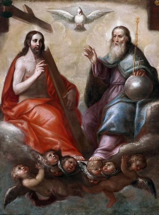 Anónimo -- La Santísima Trinidad. Part 1 Prado museum
