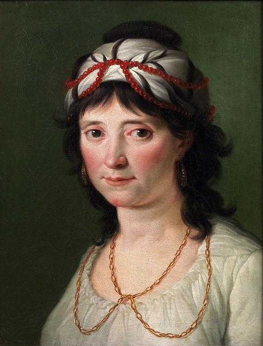 González Velázquez, Zacarías -- Retrato de dama. Part 1 Prado museum