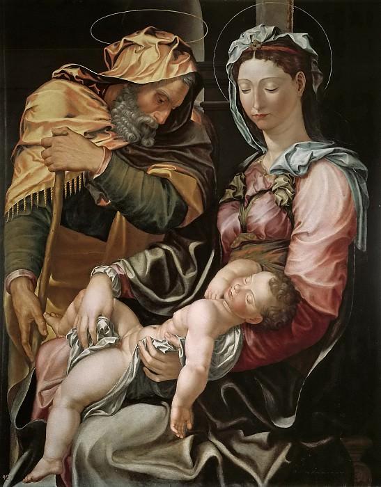 Якопо дель Конте (приписывается) -- Святое семейство. Часть 1 Музей Прадо