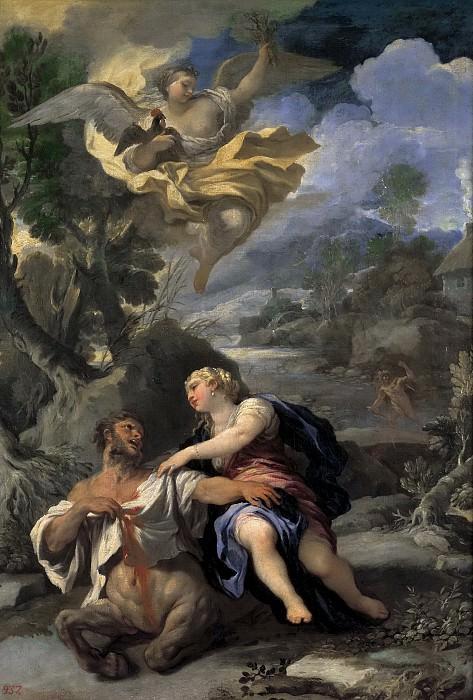 Джордано, Лука -- Смерть кентавра Несса. Часть 1 Музей Прадо