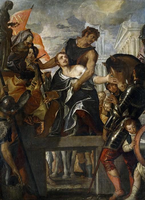 Veronese, Paolo -- Martirio de San Mena. Part 1 Prado museum