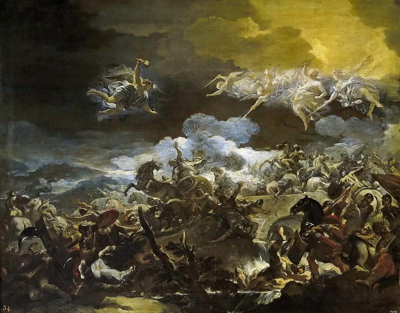 Giordano, Luca -- La derrota de Sísara. Part 1 Prado museum