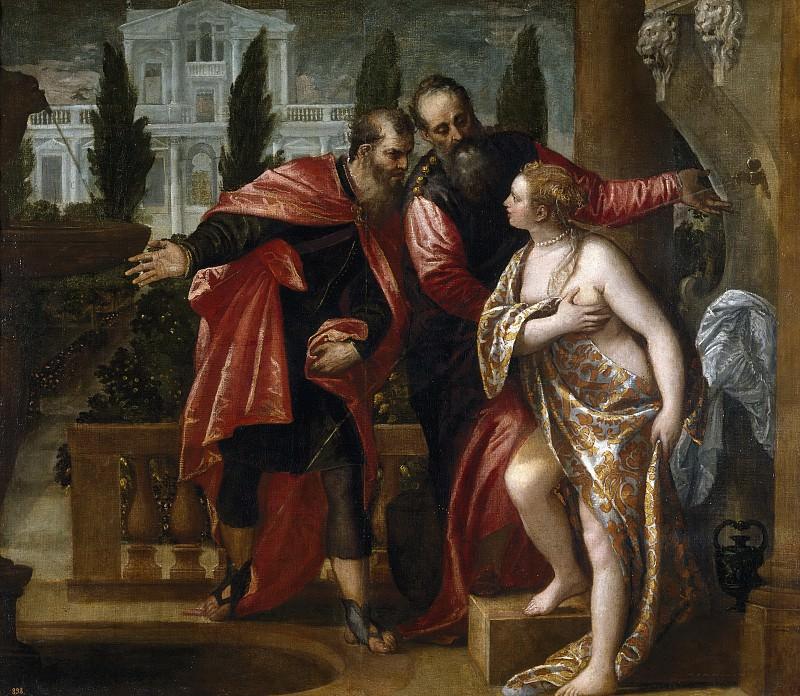 Veronese, Paolo -- Susana y los viejos. Part 1 Prado museum