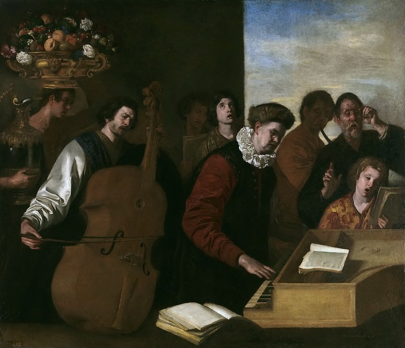 Falcone, Aniello -- Un concierto. Part 1 Prado museum