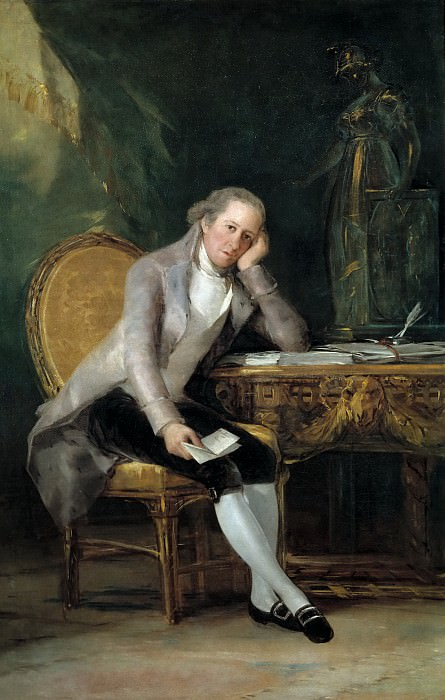 Goya y Lucientes, Francisco de -- Gaspar Melchor de Jovellanos. Part 1 Prado museum