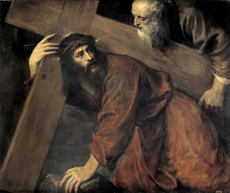 Cristo camino del Calvario. Titian (Tiziano Vecellio)