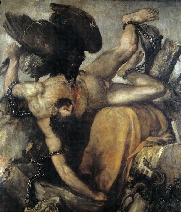 Тициан -- Великан Титий. Часть 1 Музей Прадо
